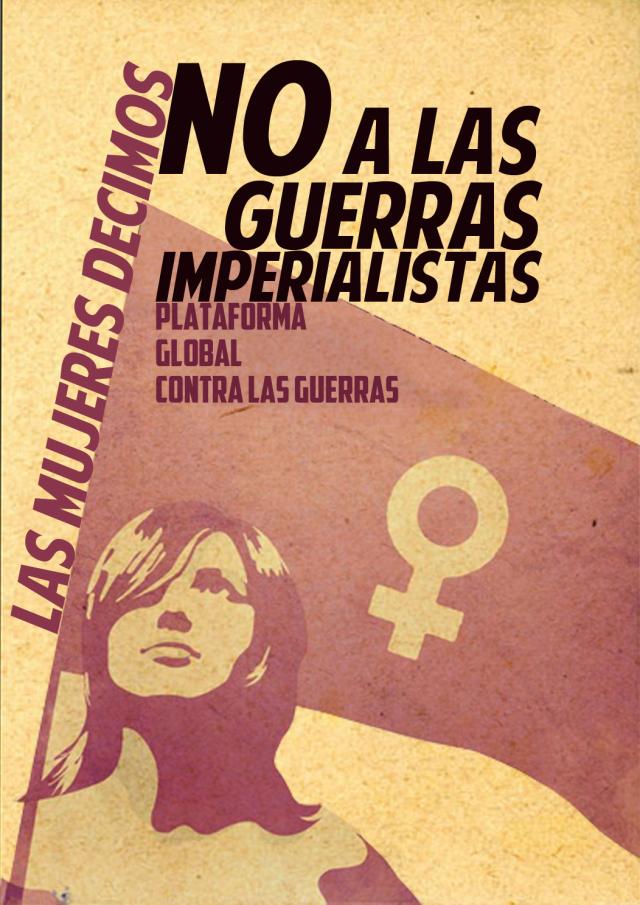 Mujeres NO Guerra 8 marzo