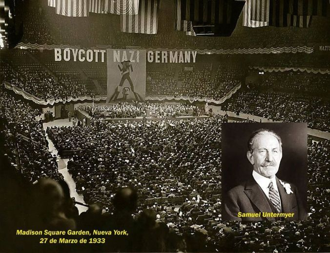 Judios declaran la guerra a Alemania